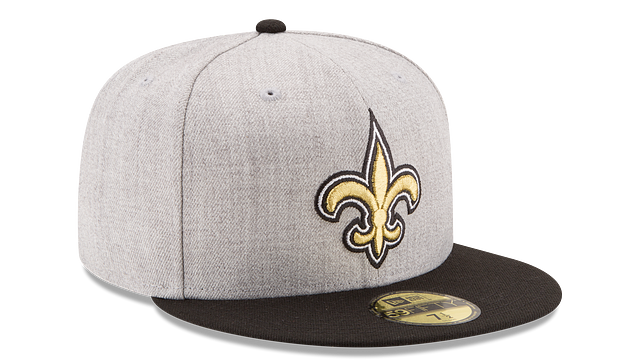 NEW ORLEANS SAINTS HEATHER ACTION 59FIFTY FITTED