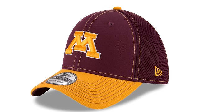 MINNESOTA GOLDEN GOPHERS TEAM CLASSIC 39THIRTY STRETCH FIT