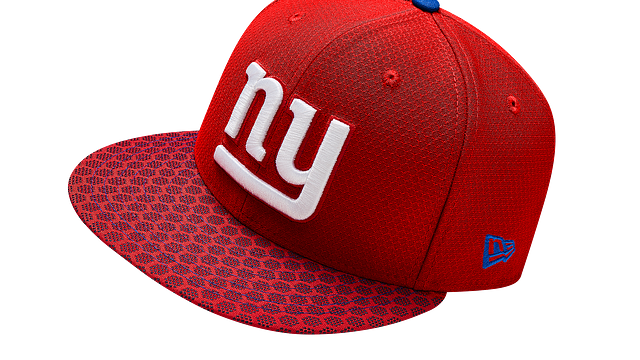 NEW YORK GIANTS OFFICIAL SIDELINE 9FIFTY SNAPBACK
