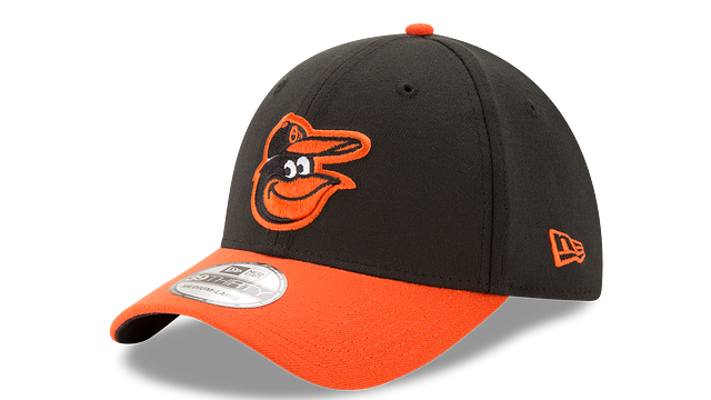 BALTIMORE ORIOLES TEAM CLASSIC 39THIRTY STRETCH FIT