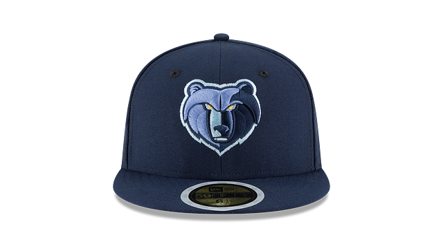 KIDS MEMPHIS GRIZZLIES TEAM COLOR 59FIFTY FITTED