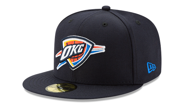 OKLAHOMA CITY THUNDER TEAM COLOR 59FIFTY FITTED