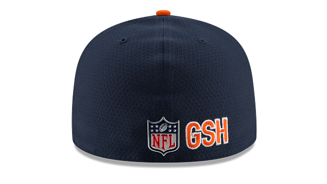 CHICAGO BEARS OFFICIAL SIDELINE 59FIFTY FITTED