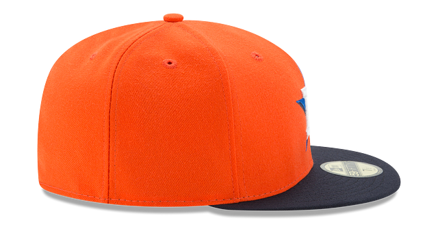 KIDS HOUSTON ASTROS AUTHENTIC COLLECTION 59FIFTY FITTED