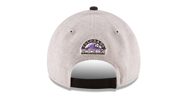 COLORADO ROCKIES HEATHER 9FORTY ADJUSTABLE Rear view