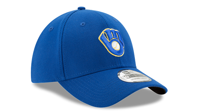 KIDS MILWAUKEE BREWERS TEAM CLASSIC 39THIRTY STRETCH FIT