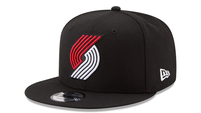 PORTLAND TRAILBLAZERS TEAM COLOR 9FIFTY SNAPBACK