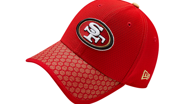 SAN FRANCISCO 49ERS OFFICIAL SIDELINE 39THIRTY STRETCH FIT