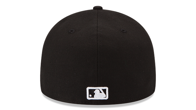 BALTIMORE ORIOLES BLACK & WHITE 59FIFTY FITTED