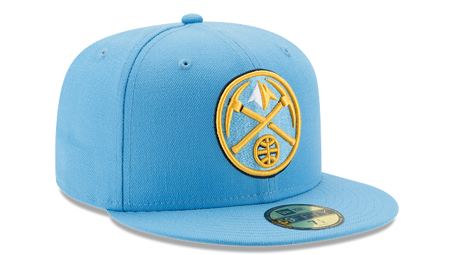 DENVER NUGGETS TEAM COLOR 59FIFTY FITTED