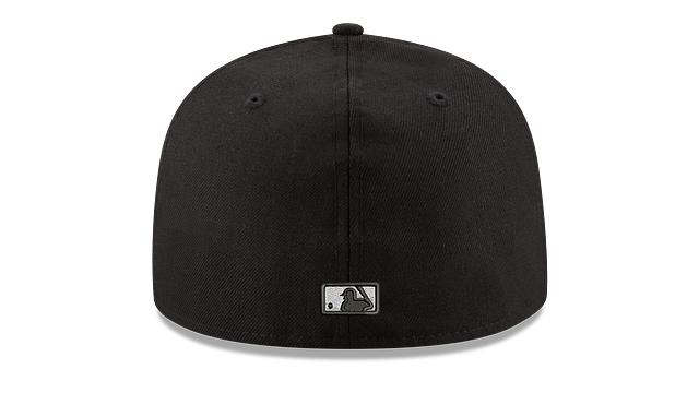 KIDS TAMPA BAY RAYS BLACK & WHITE 59FIFTY FITTED