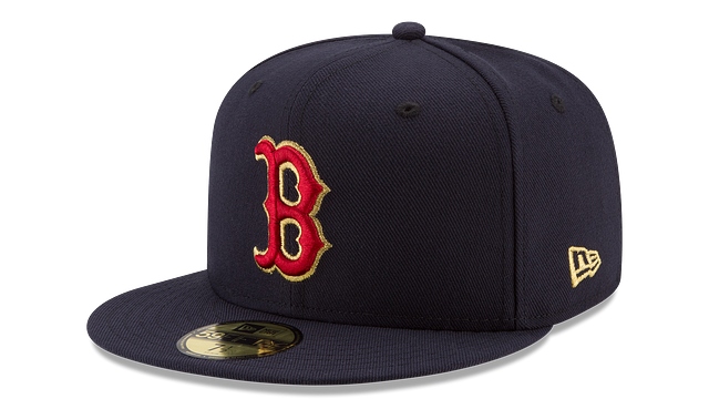 BOSTON RED SOX MLB CHAMPION HASHMARK 59FIFTY FITTED
