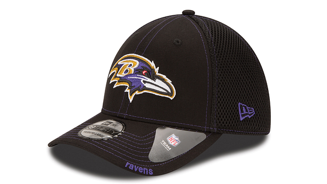 BALTIMORE RAVENS NEO 39THIRTY STRETCH FIT