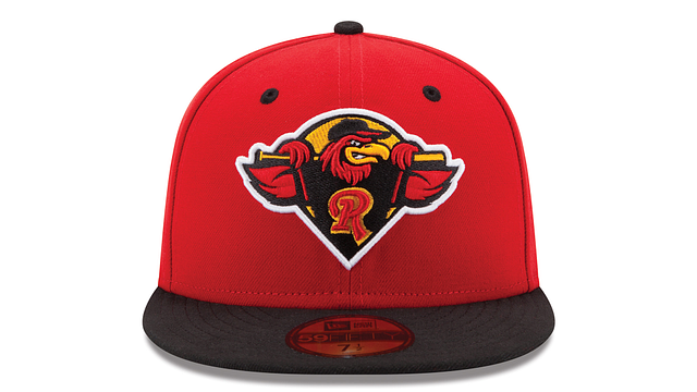 ROCHESTER RED WINGS AUTHENTIC COLLECTION 59FIFTY FITTED