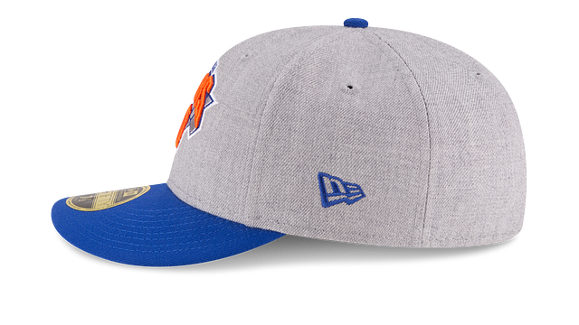 NEW YORK KNICKS HEATHER LOW PROFILE 59FIFTY FITTED
