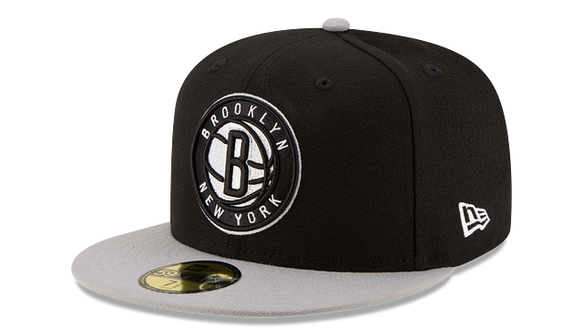 BROOKLYN NETS 2TONE 59FIFTY FITTED