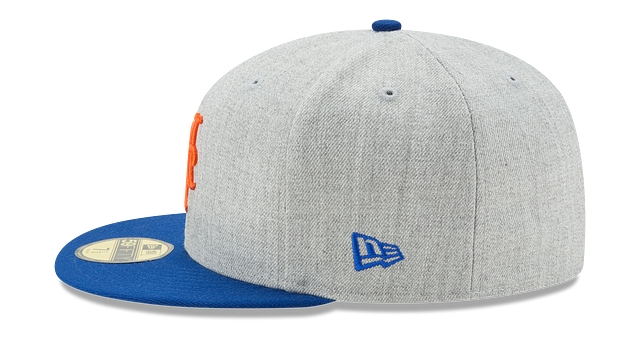 NEW YORK METS HEATHER ACTION 59FIFTY FITTED