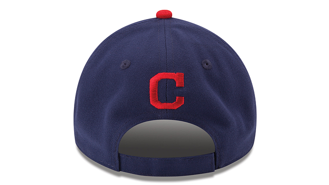 CLEVELAND INDIANS THE LEAGUE 2TONE 9FORTY ADJUSTABLE