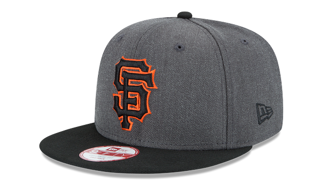 SAN FRANCISCO GIANTS GRAPHITE 9FIFTY SNAPBACK