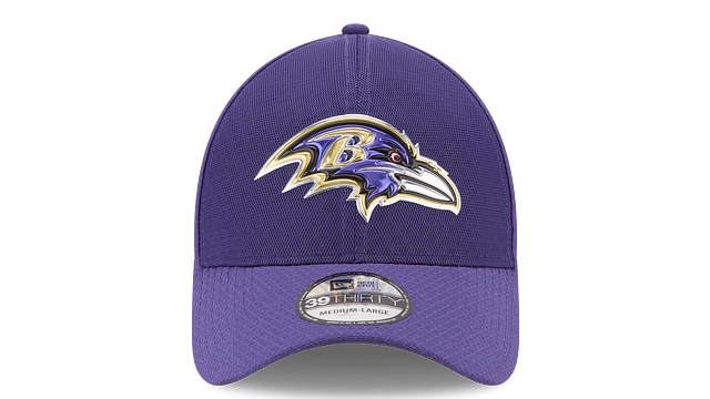 BALTIMORE RAVENS COLOR RUSH 39THIRTY STRETCH FIT