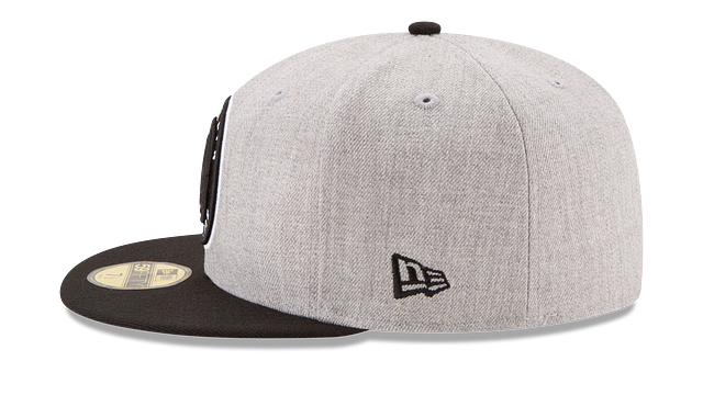BROOKLYN NETS HEATHER ACTION 59FIFTY FITTED