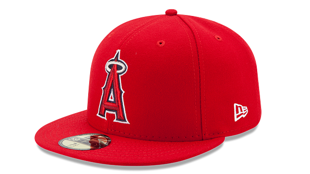 LOS ANGELES ANGELS AUTHENTIC COLLECTION 59FIFTY FITTED