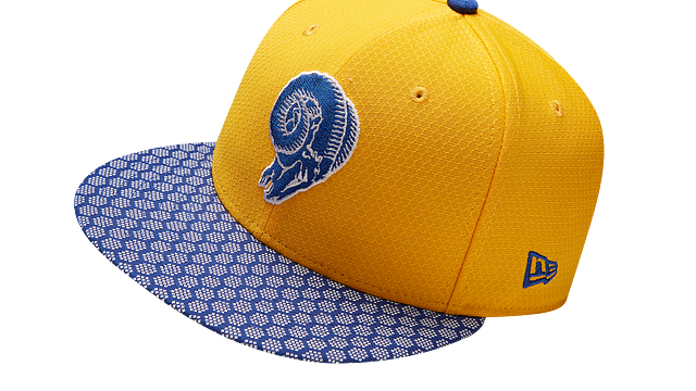 LOS ANGELES RAMS OFFICIAL SIDELINE 9FIFTY SNAPBACK