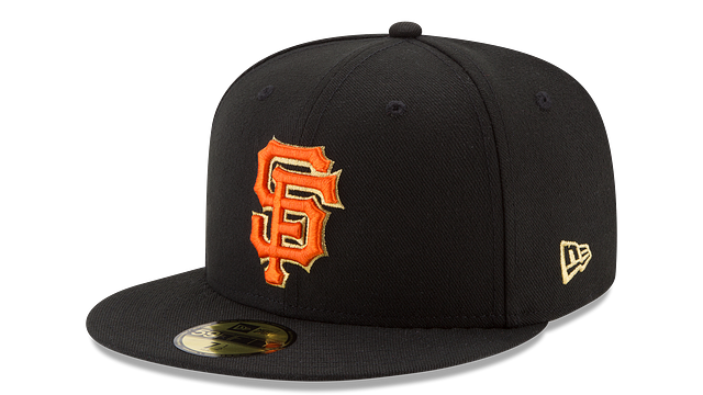 SAN FRANCISCO GIANTS MLB CHAMPION HASHMARK 59FIFTY FITTED