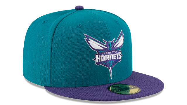 CHARLOTTE HORNETS 2TONE 59FIFTY FITTED