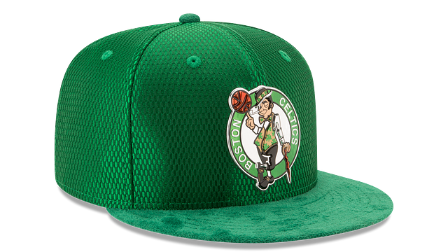BOSTON CELTICS ON COURT 59FIFTY FITTED