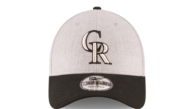 COLORADO ROCKIES HEATHER 9FORTY ADJUSTABLE Front view
