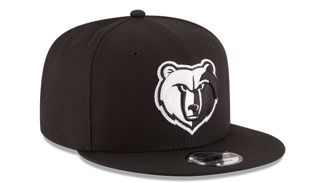 MEMPHIS GRIZZLIES BASIC BLACK 9FIFTY SNAPBACK