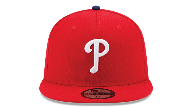KIDS PHILADELPHIA PHILLIES AUTHENTIC COLLECTION 59FIFTY FITTED