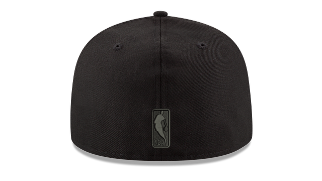 CHICAGO BULLS BLACK ON BLACK 59FIFTY FITTED
