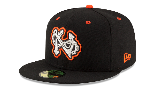 NORFOLK TIDES AUTHENTIC COLLECTION 59FIFTY FITTED