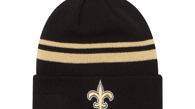 NEW ORLEANS SAINTS CUFF KNIT