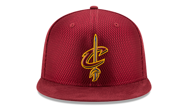 CLEVELAND CAVALIERS ON COURT 59FIFTY FITTED