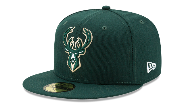 MILWAUKEE BUCKS TEAM COLOR 59FIFTY FITTED