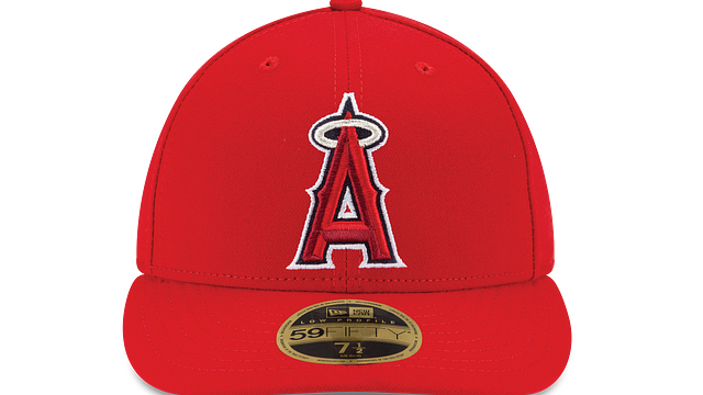 LOS ANGELES ANGELS AUTHENTIC COLLECTION LOW PROFILE 59FIFTY FITTED