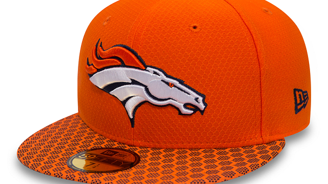 DENVER BRONCOS OFFICIAL SIDELINE 59FIFTY FITTED