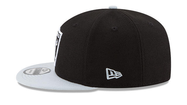 OAKLAND RAIDERS TEAM PATCHER 9FIFTY SNAPBACK