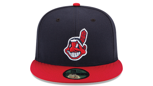 KIDS CLEVELAND INDIANS AUTHENTIC COLLECTION 59FIFTY FITTED