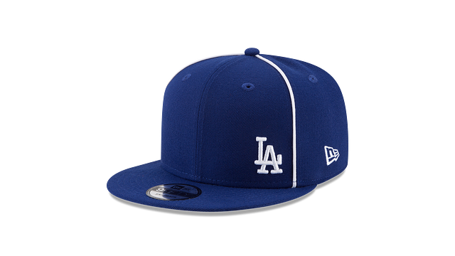LOS ANGELES DODGERS Y2K FLAWLESS 9FIFTY SNAPBACK 3 quarter left view