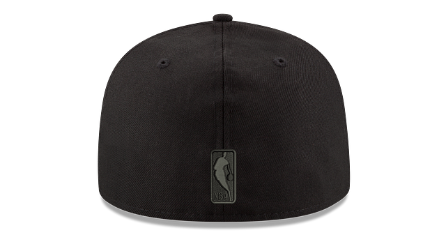 MINNESOTA TIMBERWOLVES BLACK ON BLACK 59FIFTY FITTED