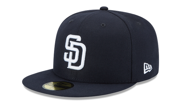 SAN DIEGO PADRES MLB BASIC 59FIFTY FITTED