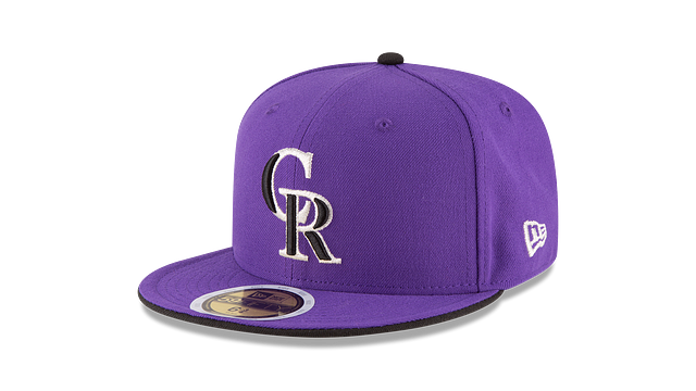 KIDS COLORADO ROCKIES AUTHENTIC COLLECTION 59FIFTY FITTED
