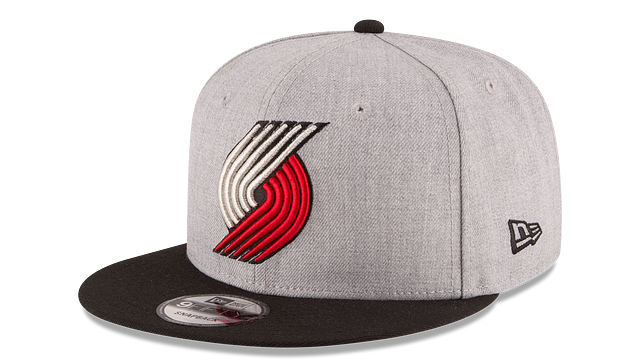 PORTLAND TRAILBLAZERS 2TONE HEATHER 9FIFTY SNAPBACK