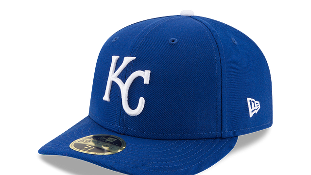 KANSAS CITY ROYALS WORLD SERIES LOW PROFILE 59FIFTY FITTED