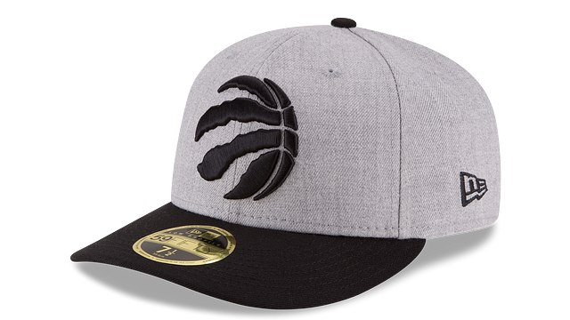 TORONTO RAPTORS HEATHER LOW PROFILE 59FIFTY FITTED