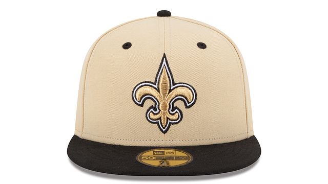 NEW ORLEANS SAINTS 2TONE 59FIFTY FITTED